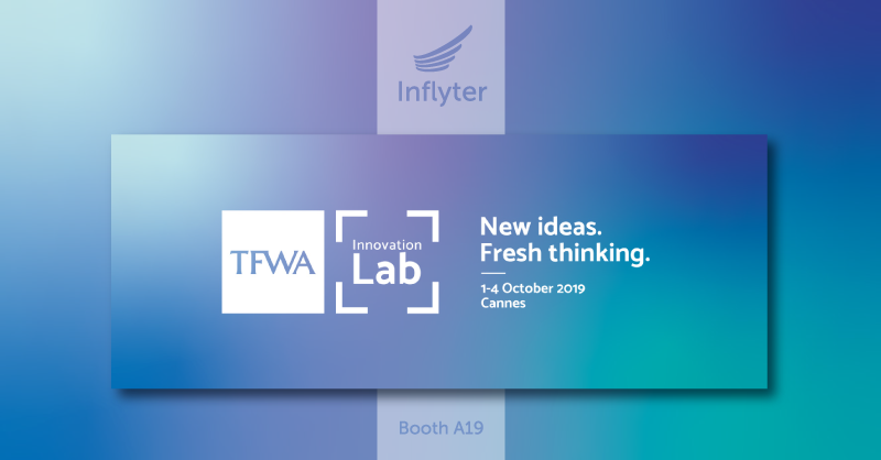 Inflyter to exhibit at TFWA Conference 2019