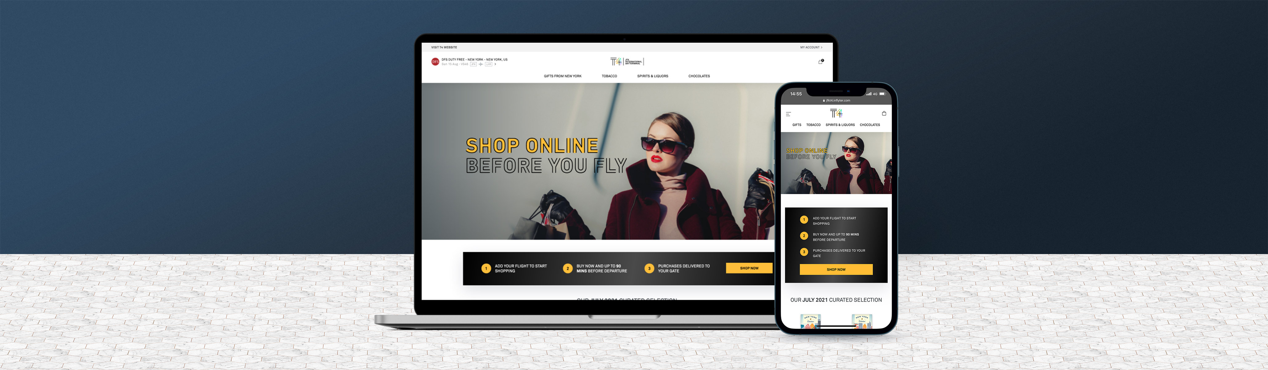 Inflyter launches digital duty free marketplace for JFK International Airport.